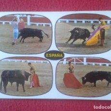 Tauromaquia: POSTAL POSTCARD POST CARD TOROS TOREO TAUROMAQUIA FIESTA BULLFIGHTING TÍPICA CORRIDA DE TOROS. VER F. Lote 103700983