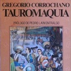 Tauromaquia: LIBRO LA TAUROMAQUIA. GREGORIO CORROCHANO. Lote 105340879