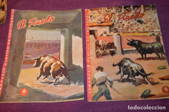 Tauromaquia: Años 50 - 17 REVISTAS TAURINAS - 17 EJEMPLARES DE LA REVISTA EL RUEDO - HAZME UNA OFERTA - VINTAGE - Foto 2 - 106959791