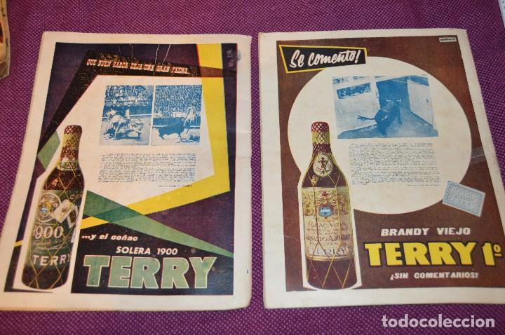 Tauromaquia: Años 50 - 17 REVISTAS TAURINAS - 17 EJEMPLARES DE LA REVISTA EL RUEDO - HAZME UNA OFERTA - VINTAGE - Foto 7 - 106959791