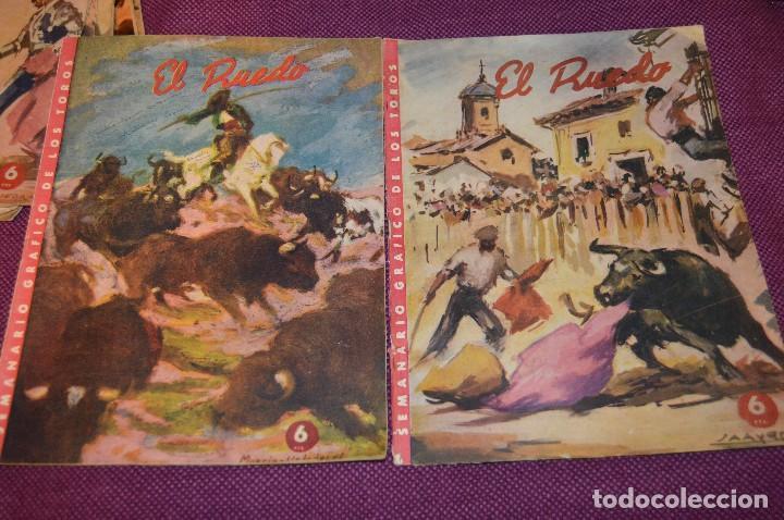 Tauromaquia: Años 50 - 17 REVISTAS TAURINAS - 17 EJEMPLARES DE LA REVISTA EL RUEDO - HAZME UNA OFERTA - VINTAGE - Foto 8 - 106959791