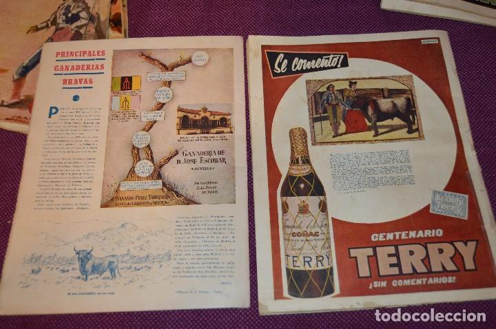 Tauromaquia: Años 50 - 17 REVISTAS TAURINAS - 17 EJEMPLARES DE LA REVISTA EL RUEDO - HAZME UNA OFERTA - VINTAGE - Foto 9 - 106959791
