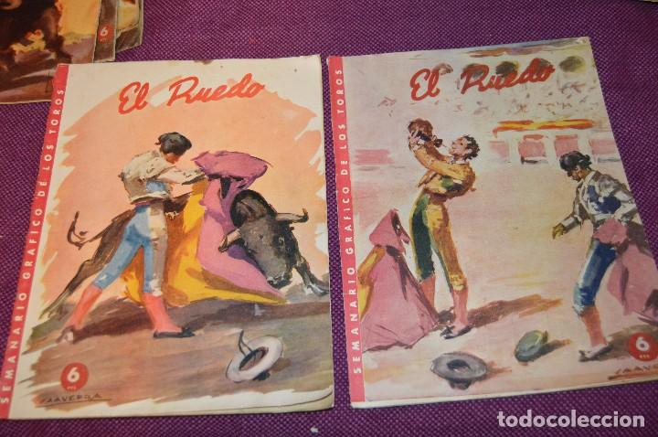 Tauromaquia: Años 50 - 17 REVISTAS TAURINAS - 17 EJEMPLARES DE LA REVISTA EL RUEDO - HAZME UNA OFERTA - VINTAGE - Foto 10 - 106959791