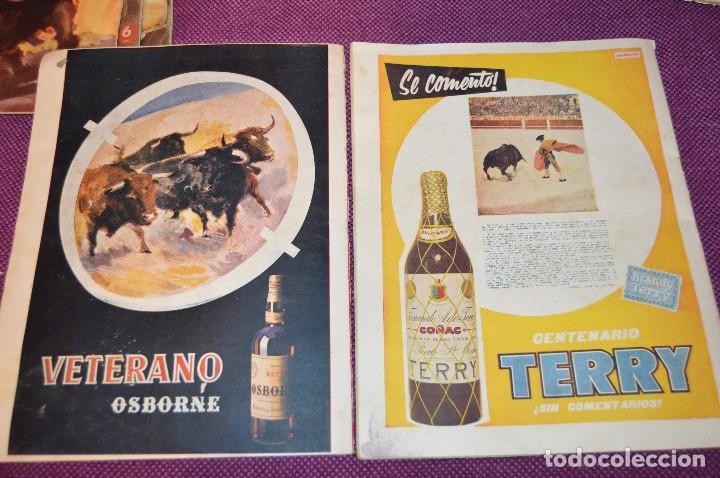 Tauromaquia: Años 50 - 17 REVISTAS TAURINAS - 17 EJEMPLARES DE LA REVISTA EL RUEDO - HAZME UNA OFERTA - VINTAGE - Foto 11 - 106959791