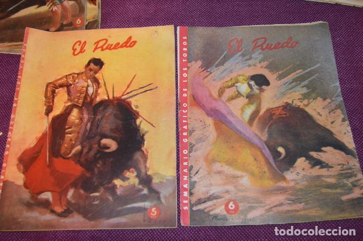Tauromaquia: Años 50 - 17 REVISTAS TAURINAS - 17 EJEMPLARES DE LA REVISTA EL RUEDO - HAZME UNA OFERTA - VINTAGE - Foto 12 - 106959791