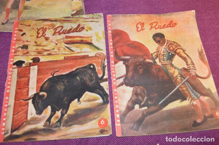 Tauromaquia: Años 50 - 17 REVISTAS TAURINAS - 17 EJEMPLARES DE LA REVISTA EL RUEDO - HAZME UNA OFERTA - VINTAGE - Foto 14 - 106959791