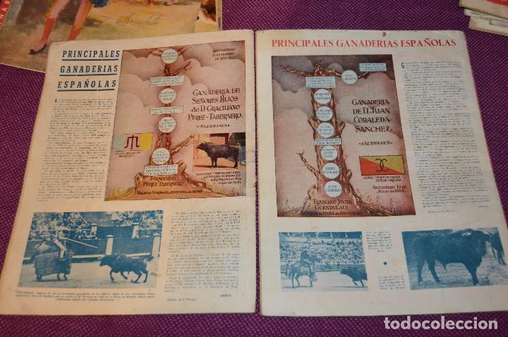 Tauromaquia: Años 50 - 17 REVISTAS TAURINAS - 17 EJEMPLARES DE LA REVISTA EL RUEDO - HAZME UNA OFERTA - VINTAGE - Foto 15 - 106959791