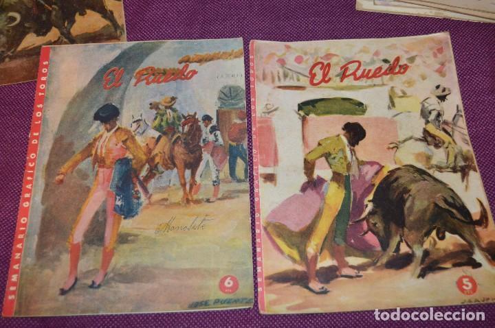 Tauromaquia: Años 50 - 17 REVISTAS TAURINAS - 17 EJEMPLARES DE LA REVISTA EL RUEDO - HAZME UNA OFERTA - VINTAGE - Foto 16 - 106959791