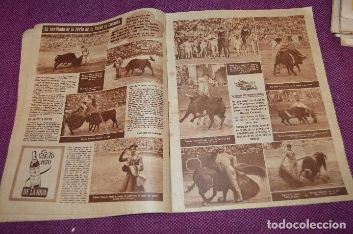 Tauromaquia: Años 50 - 17 REVISTAS TAURINAS - 17 EJEMPLARES DE LA REVISTA EL RUEDO - HAZME UNA OFERTA - VINTAGE - Foto 21 - 106959791