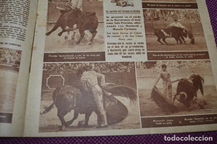 Tauromaquia: Años 50 - 17 REVISTAS TAURINAS - 17 EJEMPLARES DE LA REVISTA EL RUEDO - HAZME UNA OFERTA - VINTAGE - Foto 22 - 106959791