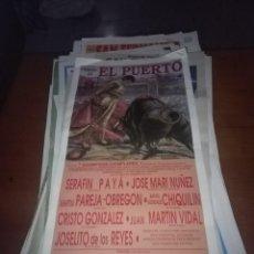 Stierkampf - CARTEL DE TOROS. EL PUERTO. 1989. II. FESTIVAL TAURINO BENEFICIO DE LA CRUZ ROJA LOCAL. - 108188243