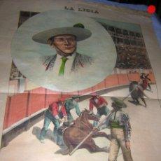 Tauromaquia: LA LIDIA REVISTA CON LITOGRAFÍA, Nº 26 AÑO XIV DE 1895 ORIGINAL. Lote 109854627