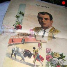 Tauromaquia: LA LIDIA REVISTA CON LITOGRAFÍA, Nº 24 AÑO XIV DE 1895 ORIGINAL. Lote 109887455