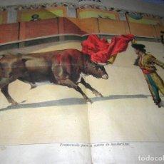 Tauromaquia: LA LIDIA REVISTA CON LITOGRAFÍA, Nº 20, AÑO XIV DE 1895 ORIGINAL. Lote 109891975