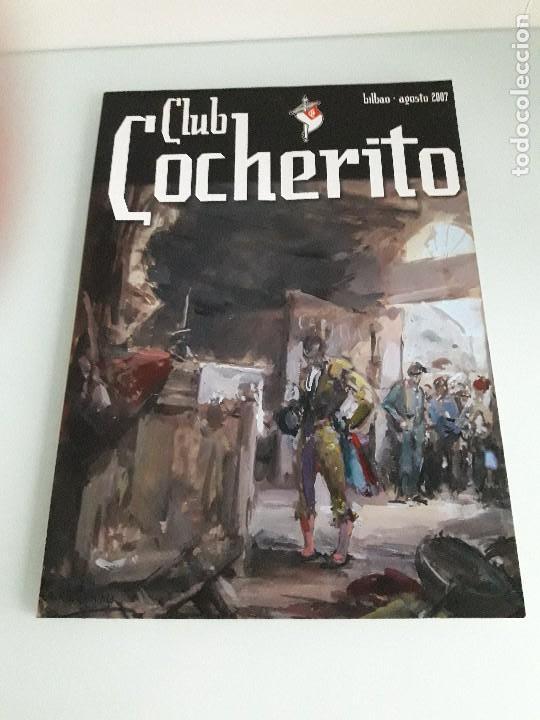 CLUB COCHERITO - BILBAO - AGOSTO 2007 - TOROS - TAUROMAQUIA (Coleccionismo - Tauromaquia)