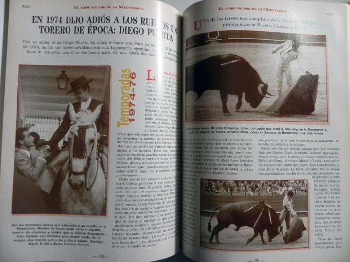 Tauromaquia: EL LIBRO DE ORO LA MAESTRANZA - TAUROMAQUIA SEVILLA PLAZA TOROS TOREROS -MUCHAS FOTOS HISTORIA TOREO - Foto 3 - 111688019