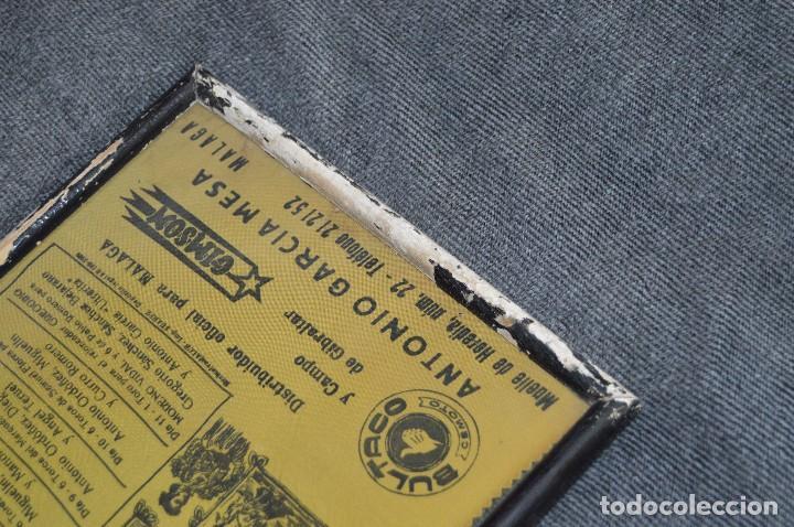 Tauromaquia: VINTAGE Y ANTIGUO - ANTIGUO CARTEL TAURINO ENMARCADO - FERIA DE MÁLAGA DE 1968 - EN SEDA - HAZ OFERT - Foto 7 - 112335655