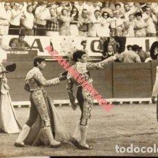 Tauromaquia: EL PUERTO DE SANTA MARIA, 1976, PAULA, MANILI Y GALLOSO, 178X128MM. Lote 112449555