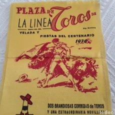 Tauromaquia: CARTEL TOROS LA LINEA 1970. Lote 112571387