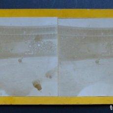 Tauromaquia: VALENCIA - PLAZA DE TOROS - FOTOGRAFIA VISTA ESTEREOSCOPICA DE PRINCIPIO DE SIGLO XX. Lote 113549251