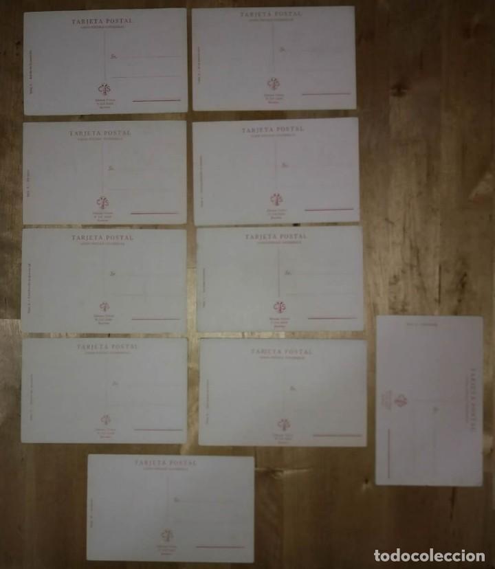 Lote de 10 postales taurinas. Ediciones Victoria. 13.6x8.7 cm - 114419339