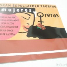 Tauromaquia: LIBRETO TAURINO - MUJERES TORERAS (ROSANA TOLEDO,CRISTINA HERNANDEZ,LIDIA FALCON ,ETC.). Lote 115377895