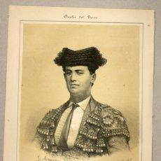 Tauromaquia: LITOGRAFIA ANTONIO SANCHEZ, TATO. CIRCA 1900. ANALES DEL TOREO. Lote 115788978