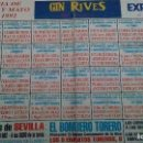 Tauromaquia: CARTEL DE MANO DE SEVILLA DEL AÑO 1992 ,MIDE ABIERTO 31 X 22 CM. Lote 116219043