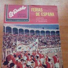 Tauromaquia: REVISTA. EL RUEDO. AÑO XXXI. Nº 1.579. 24-SEPTIEMBRE-1974. FERIAS DE ESPAÑA.. Lote 116300083