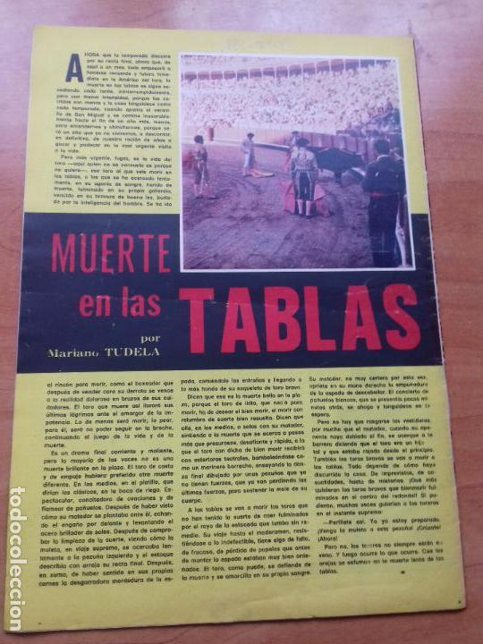 Tauromaquia: REVISTA. EL RUEDO. AÑO XXXI. Nº 1.579. 24-SEPTIEMBRE-1974. FERIAS DE ESPAÑA. - Foto 2 - 116300083