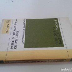 Tauromaquia: PASEILLO POR EL PLANETA DE LOS TOROS-ANTONIO DÍAZ-CAÑABATE-BIBLIOTECA BÁSICA SALVAT-LIBRO RTV 54. Lote 127788870