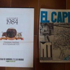 Tauromaquia: CALENDARIO TAURINO 1984 Y SEMANARIO 1979. Lote 117438950