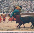 Tauromaquia: POSTAL CORRIDA DE TOROS - UNA BUENA VARA. Lote 117755323