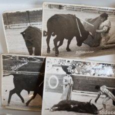 Tauromaquia: LOTE DE 5 FOTOGRAFIAS TAURINAS, PLAZA DE TOROS DE ALICANTE, FOTO SORIANO. Lote 117816694