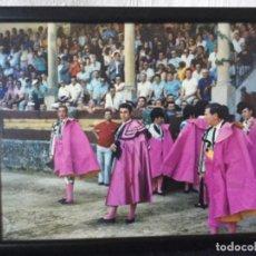 Tauromaquia: FOTO PASEÍLLO EN RONDA. BIENVENIDA ORDÓÑEZ Y PAQUIRRI. FOTO M. MARTIN 1973. Lote 192975300