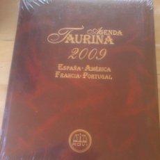 Tauromaquia: AGENDA TAURINA 2009 ESPAÑA - AMÉRICA - FRANCIA - PORTUGAL. Lote 119389515