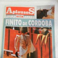 Tauromaquia: APLAUSOS SEMANARIO TAURINO Nº701 FINITO DE CORDOBA.. Lote 120337763