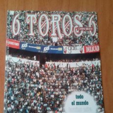 Tauromaquia: REVISTA. 6 TOROS 6. 2 DE FEBRERO DE 1999.. Lote 120344403