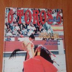 Tauromaquia: REVISTA. 6 TOROS 6. MARTES, 20 DE OCTUBRE DE 1998.. Lote 120345919