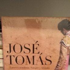 Tauromaquia: JOSE TOMAS, LUCES Y SOMBRAS. SANGRE Y TRIUNFO DE JAVIER VILLAN. Lote 121862427