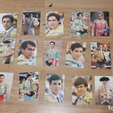Tauromaquia: FOTOS PUBLICITARIA QUE REPARTÍAN LOS TOREROS AÑOS 80 ENTRE ELLOS YIYO Y PAQUIRRI. Lote 121966675