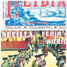 Tauromaquia: LA LIDIA Nº 3, SEVILLA FERIA DE ABRIL (1996). Lote 122204723