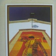 Tauromaquia: POSTAL DE SEVILLA : LA MAESTRANZA . CARTEL CON TORERO.. Lote 122206779