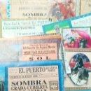 Tauromaquia: 14 ENTRADAS DE LA PLAZA DEL PUERTO, AÑOS 98, 99, 2010, 09 ,11. Lote 122340911