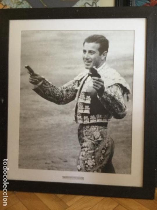 ENORME FOTOGRAFÍA DE BOTÁN. TRIUNFO DE ANTONIO ORDOÑEZ MADRID 30 DE MAYO DE 1965 (Coleccionismo - Tauromaquia)