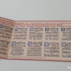 Tauromaquia: CAJ-B15FG FOLLETO 2002 EL PUERTO DE SANTA MARIA. Lote 124405267
