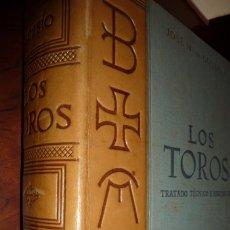 Tauromaquia: LOS TOROS,TRATADO TECNICO E HISTORICO, 1961, TOMO 4º,JOSE Mª DE COSSIO. TELA Y PIEL,28X22.1033PP.. Lote 124524599