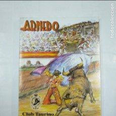Tauromaquia: LIBRO REVISTA CLUB TAURINO ARNEDANO. FERIA DE LAS NOVILLADAS 2012. ARNEDO. TDK347. Lote 124908983
