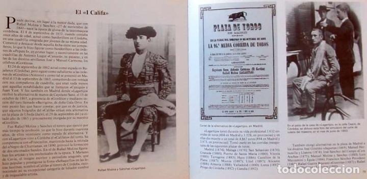 Tauromaquia: 25 AÑOS DE FOTOGRAFÍA TAURINA - LOS CALIFAS (1965-1990) - CAJASUR 1991 - VER INDICE - Foto 5 - 127585419