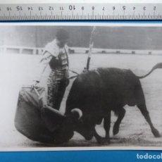 Tauromaquia: JOSE MARIA MEMBRIVES - FOTOGRAFIA Y AUTOGRAFO ORIGINAL - AÑO 1963. Lote 127869059